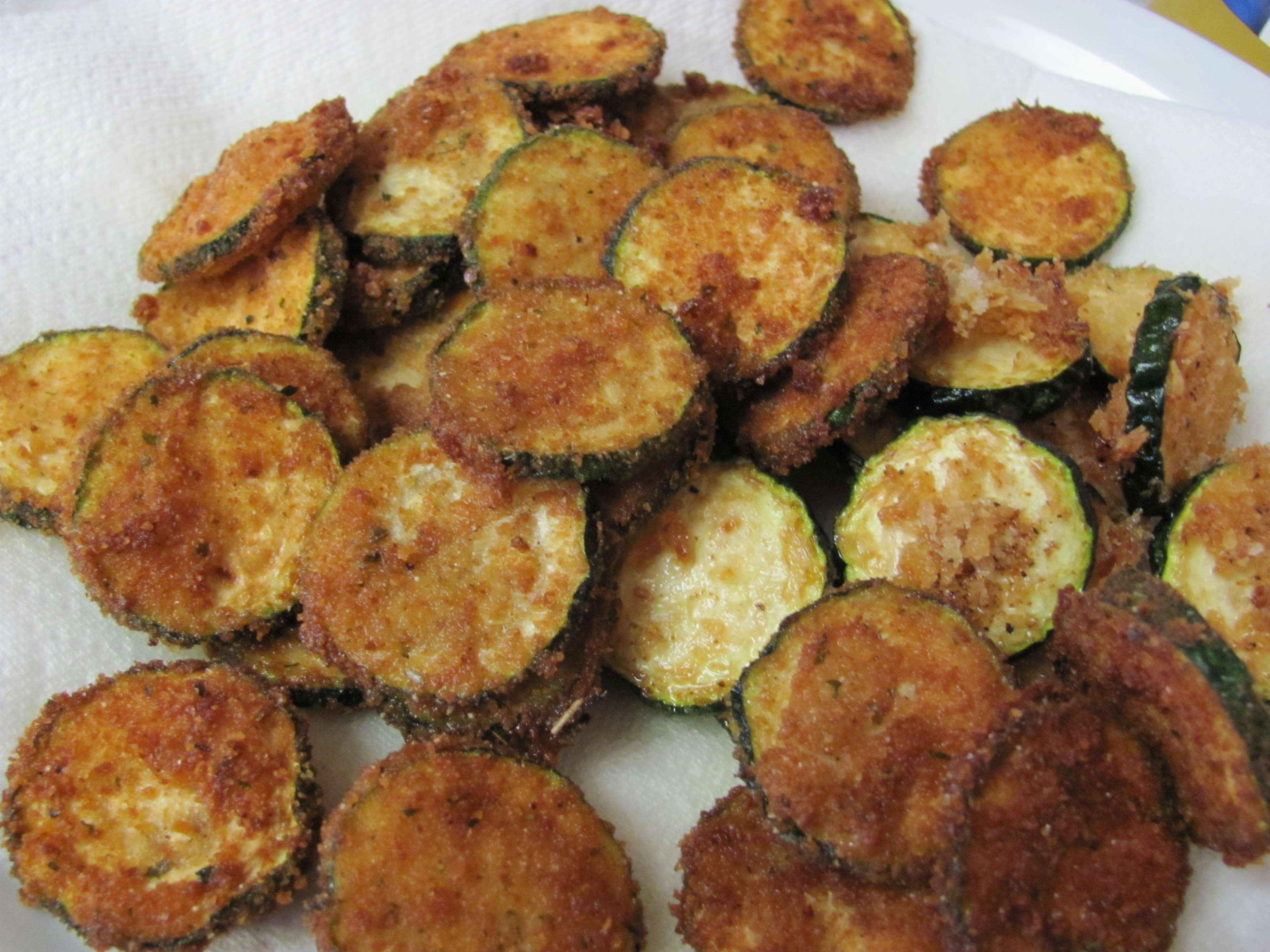 Fried Zucchini is a super easy and very yummy too! It is a great way ...