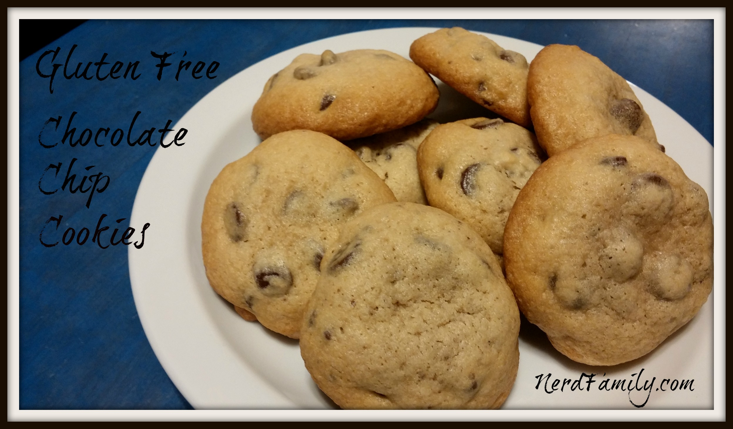 Delectable Gluten Free Chocolate Chip Cookies - Nerd Family