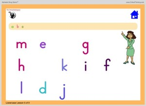 Alphabet Song in game